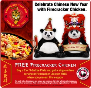 Free Firecracker Chicken